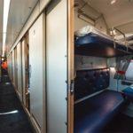 """Плацкартный вагон туристического поезда """"Сочи"""""""