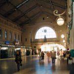 Балтийский железнодорожный вокзал фото