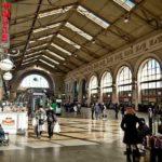 Балтийский железнодорожный вокзал зал