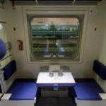 Боковые места фирменного поезда «Сыктывкар»