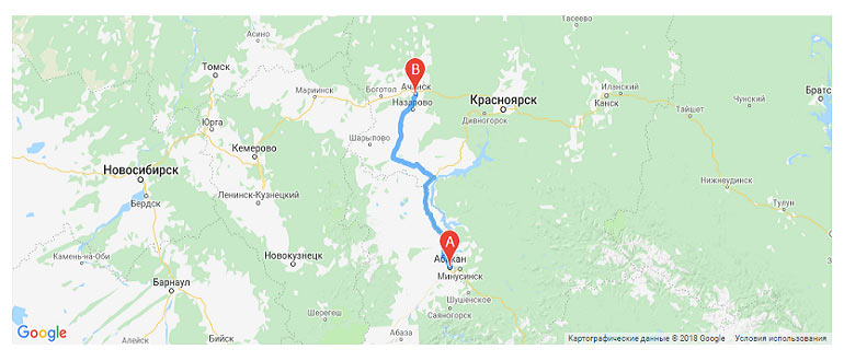 Движение поездов на карте онлайн