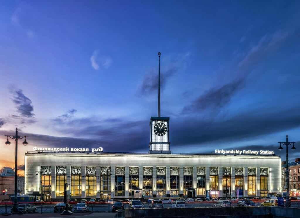 Финлянский вокзал