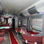 Фирменный поезд «Белогорье» бар