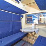 Фирменный поезд «Белогорье» комфортные сидения