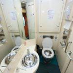 Фирменный поезд «Белогорье» туалет