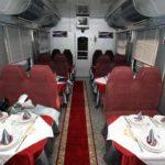 Фирменный поезд «Белогорье» вагон-ресторан