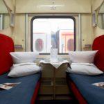 Фирменный поезд «Чувашия» вагон люкс