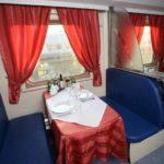 Фирменный поезд «Чувашия» вагон ресторан