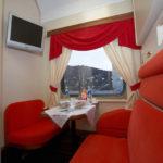 Фирменный поезд «Экспресс»: комфортный вагон Люкс