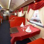 Фирменный поезд «Экспресс» обслуживание