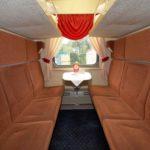 Фирменный поезд «Экспресс»: вагон СВ