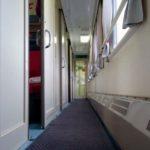 Фирменный поезд «Эльбрус» купейный вагон