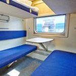Фирменный поезд «Эльбрус» плацкартный вагон