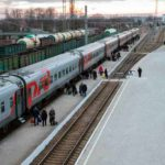 Фирменный поезд «Эльбрус» подвижной состав