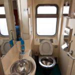Фирменный поезд «Енисей» туалет