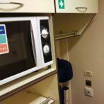 Фирменный поезд «Гилюй»: микроволновая печь