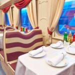 Фирменный поезд «Ингушетия» напитки