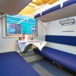 Фирменный поезд «Ингушетия» плацкартный вагон