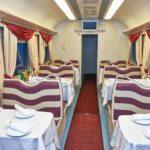Фирменный поезд «Ингушетия» вагон-ресторан
