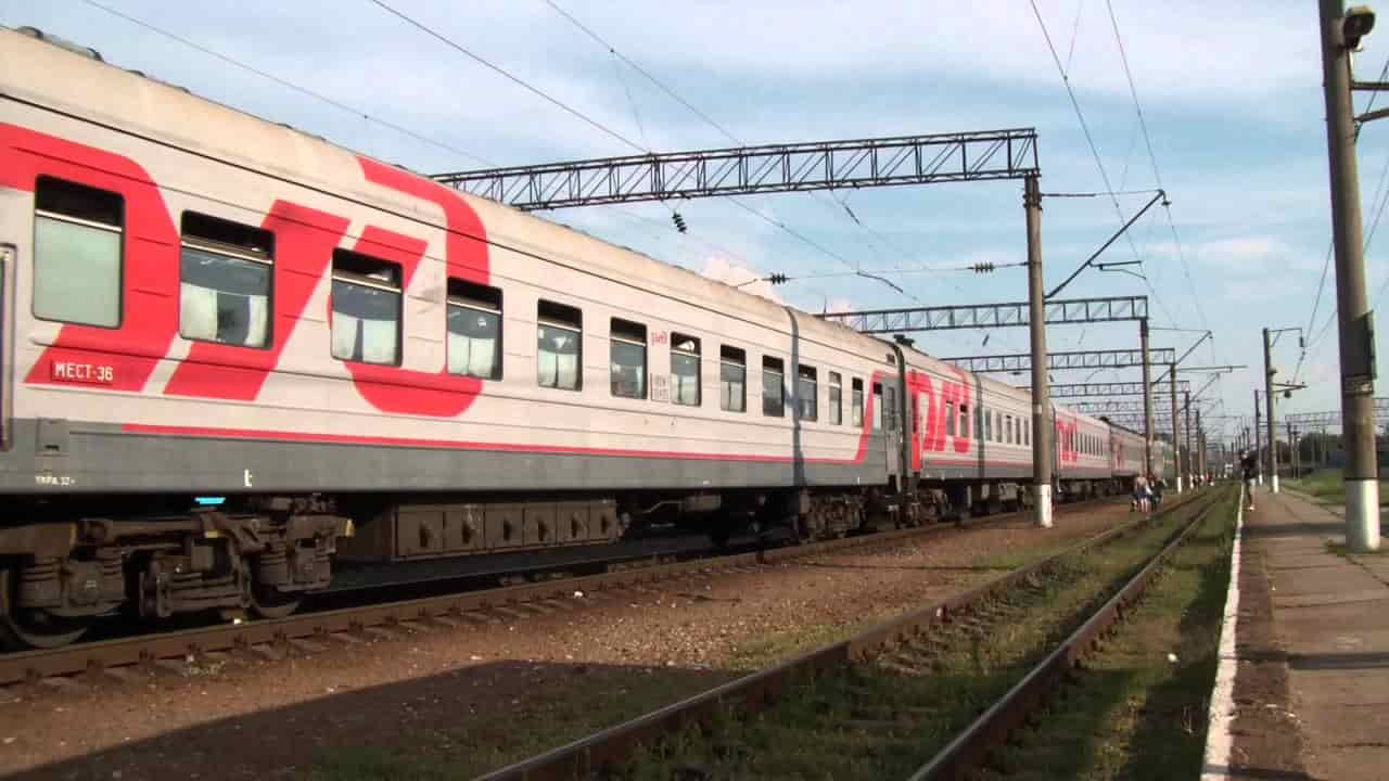 Фирменный поезд Ингушетия