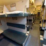 Фирменный поезд «Иртыш» плацкартный вагон