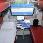 Фирменный поезд «Кама» плацкарт