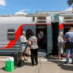 Фирменный поезд «Кама» проверка билетов
