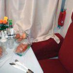 Фирменный поезд «Карелия» сервис и услуги