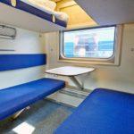 Фирменный поезд «Кузбасс»: плацкарт