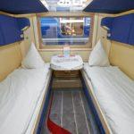 Фирменный поезд «Кузбасс»: спальные места