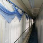 Фирменный поезд «Лотос»: коридор