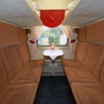 Фирменный поезд «Марий Эл»: купейный вагон