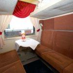 Фирменный поезд «Марий Эл»: мягкие сидения