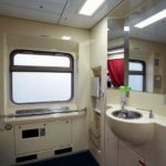 Фирменный поезд «Марий Эл»: туалет