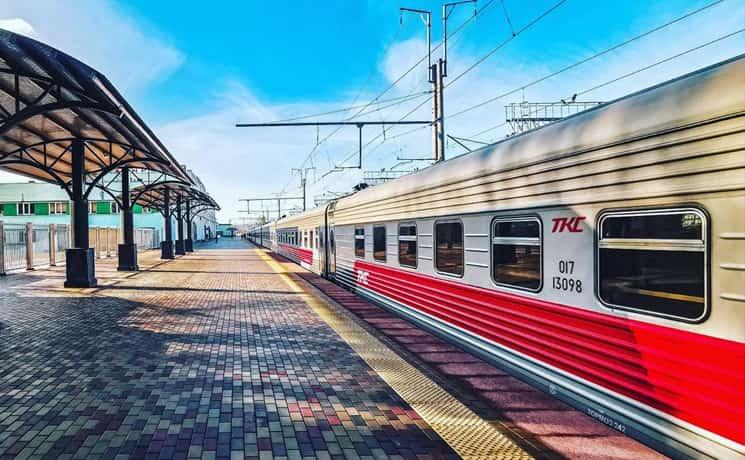 Фирменный поезд Марий Эл