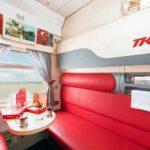 Фирменный поезд «Мордовия» купе