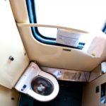 Фирменный поезд «Нижегородец» туалет