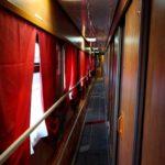 Фирменный поезд «Океан» купейный вагон