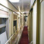 Фирменный поезд «Омич» купейный вагон