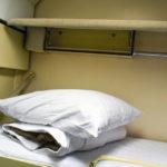 Фирменный поезд «Омич» верхнее спальное место