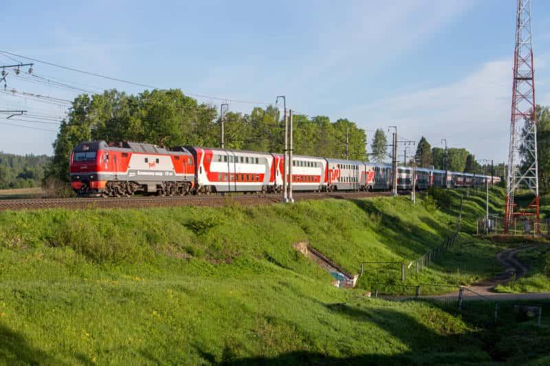 Фирменный поезд Омич