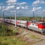 Фирменный поезд «Приосколье» подвижной состав