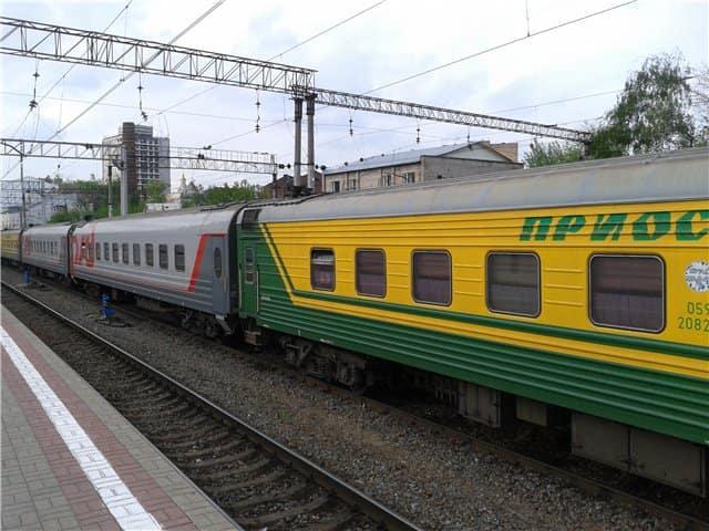 Фирменный поезд Приосколье