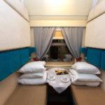 Фирменный поезд «Россия»: спальный вагон