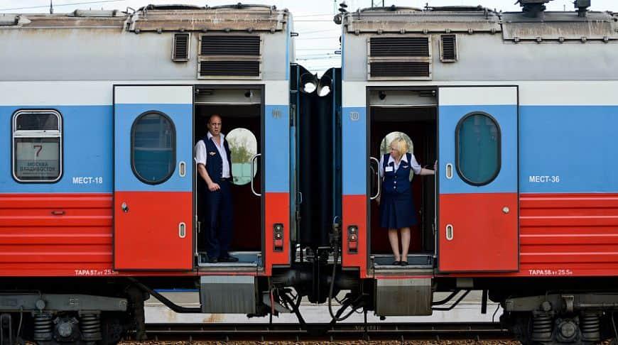 Фирменный поезд Россия