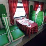 Фирменный поезд «Саратов» вагон-ресторан