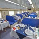 Фирменный поезд «Северный Урал» вагон ресторан