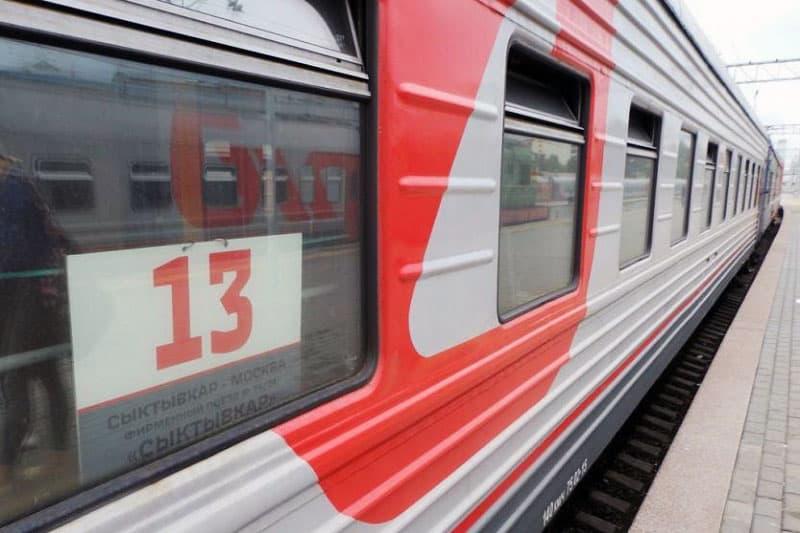 Фирменный поезд Сыктвыкар