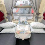 Фирменный поезд «Волгоград» люкс вагон