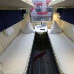 Фирменный поезд «Волгоград» нижние постельные места